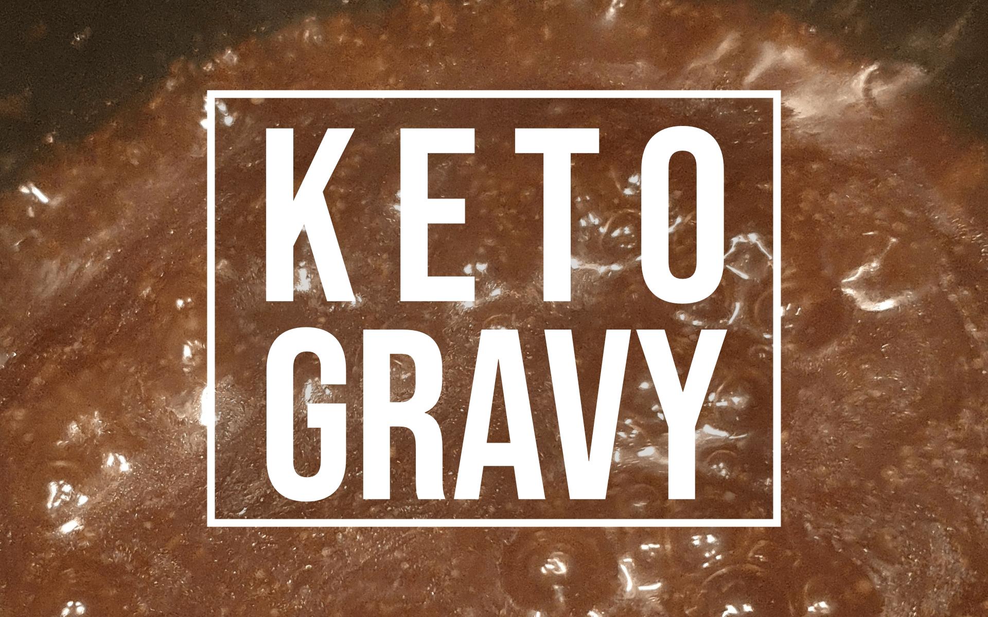 keto beef gravy recipe