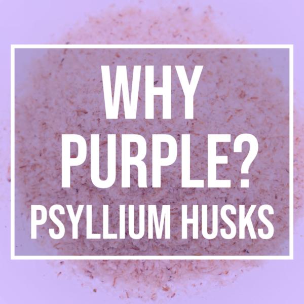 keto purple psyllium husk powder