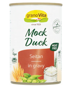 GranoVita Mock Duck Vegan Seitan in Gravy