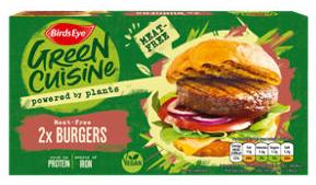 Birds Eye Green Cuisine 2 Meat-Free Burgers