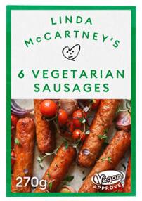 Linda McCartney's 6 Vegetarian Sausages
