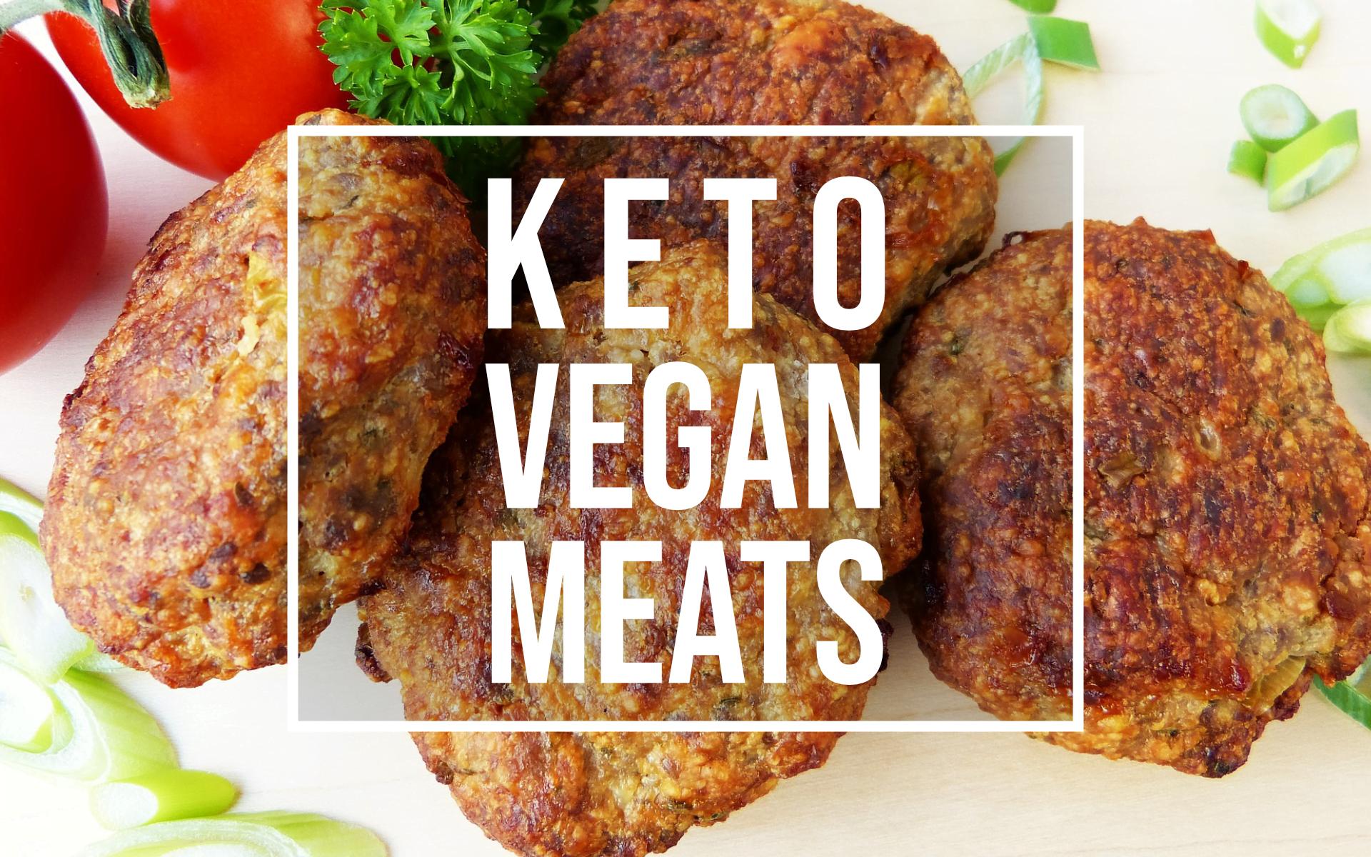keto vegan meat alternatives