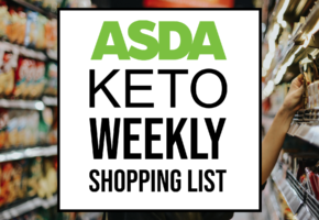 Asda Keto Weekly Shopping List