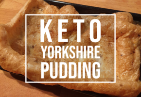 keto Yorkshire pudding recipe
